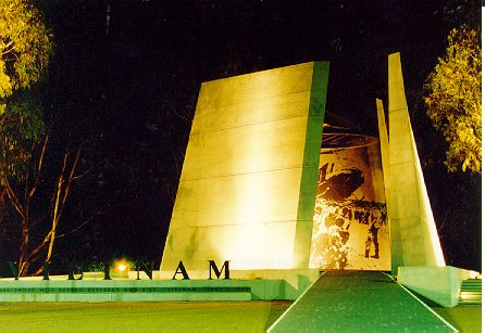 DEDICATION OF THE AUSTRALIAN VIETNAM FORCES NATIONAL MEMORIAL