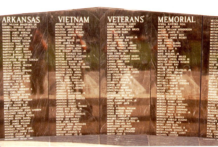 The Arkansas Vietnam Veterans Memorial