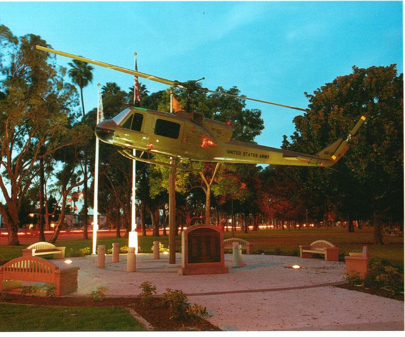 Vietnam vets park