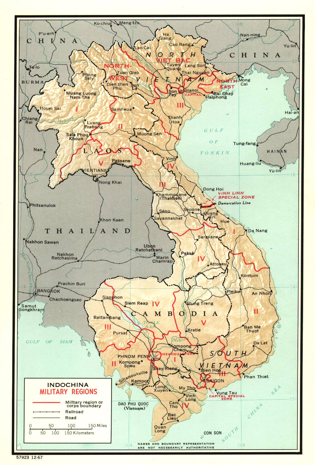 Mapbjpg - Map of us military bases in vietnam